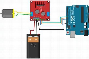 Control DC motor speed using potentiometer + L298n + Arduino – SURTR