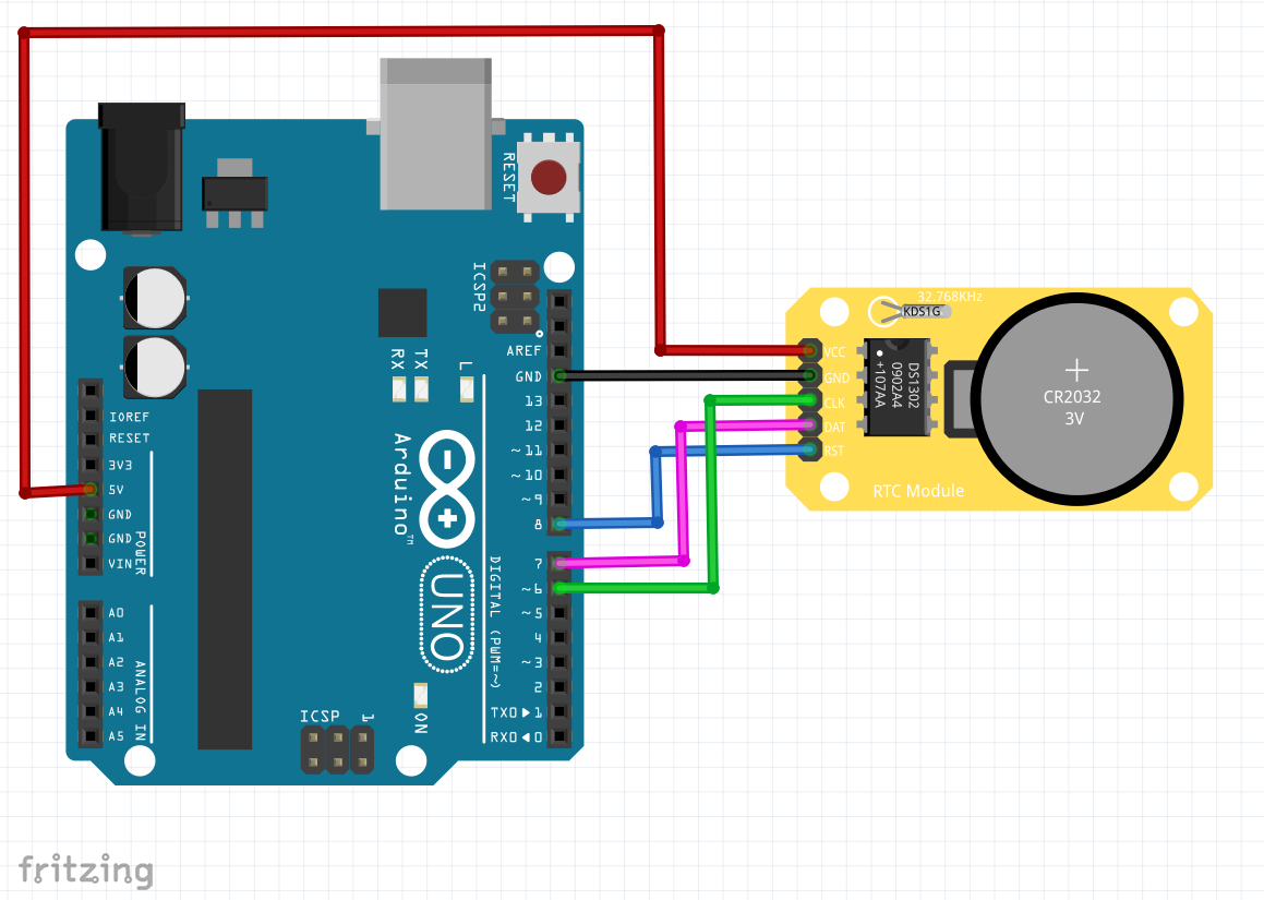 Strange How To Simply Use Ds1302 Rtc Module With Arduino Board And Lcd Wiring 101 Relewellnesstrialsorg