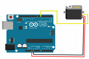 Use MG995 continuous rotation servo motor with Arduino – SURTR