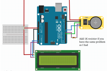How to use DS1307 RTC with Arduino and LCD/OLED – SURTR