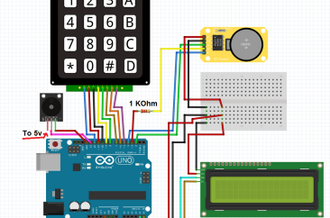 Arduino uno + 4×4 Keypad Matrix + LCD i2c screen – SURTR