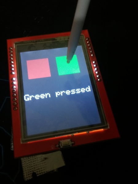 TFT LCD 2 4″ Touch screen shield tutorial – SURTR TECHNOLOGY