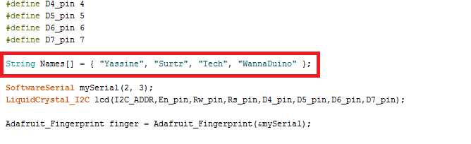 Interfacing FPM10A (50DY) Fingerprint sensor with Arduino – SURTR