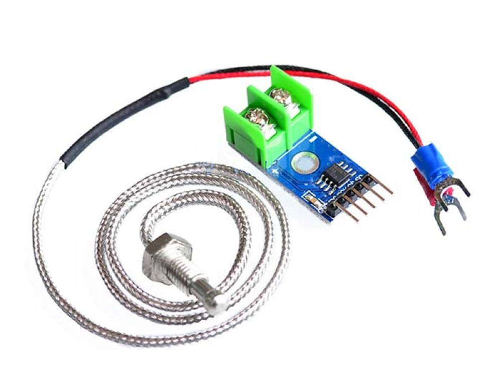 K-Type Thermocouple with MAX6675 AD Module-1000x750