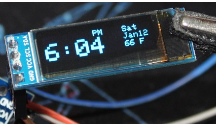 How to simply use DS3231 RTC module with Arduino + OLED
