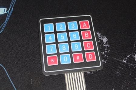 4x4 Keypad Matrix