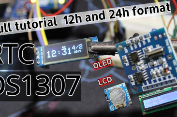 How to simply use DS1302 RTC module with Arduino board and LCD